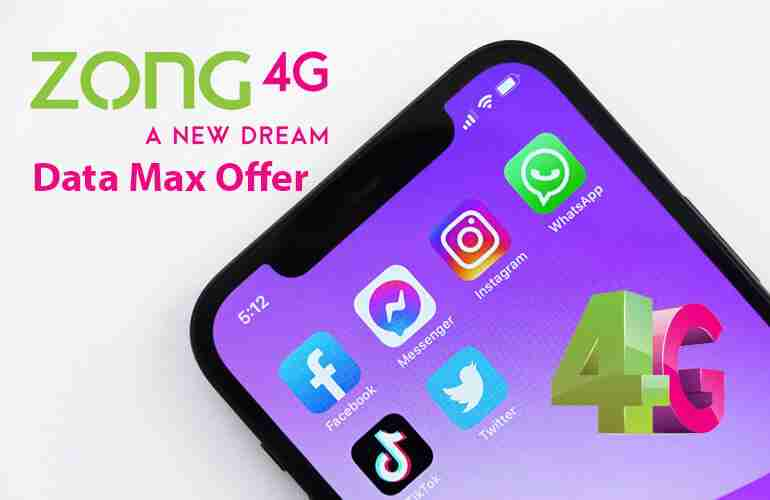 Zong Daily Data Max Internet Offer