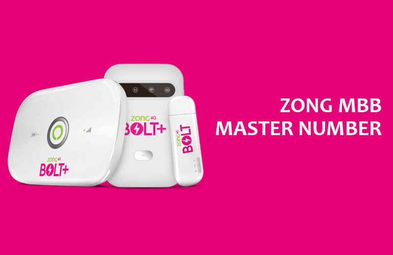 How to Change Zong MBB Master Number