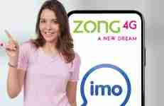 Zong IMO Monthly Package