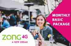 Zong Monthly Basic Internet Package