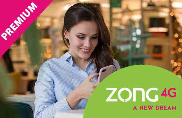 Zong Monthly Premium Package