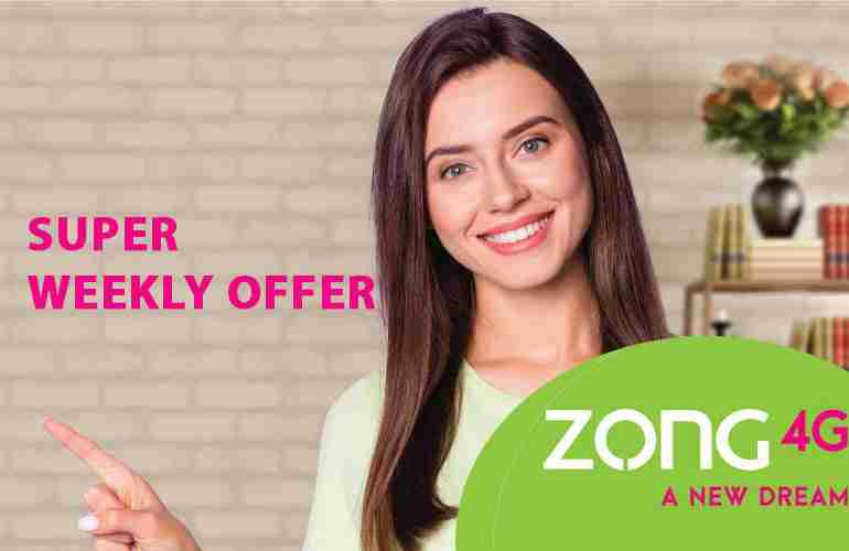 Zong Super Weekly Package