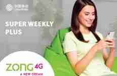Zong Super Weekly Plus Package