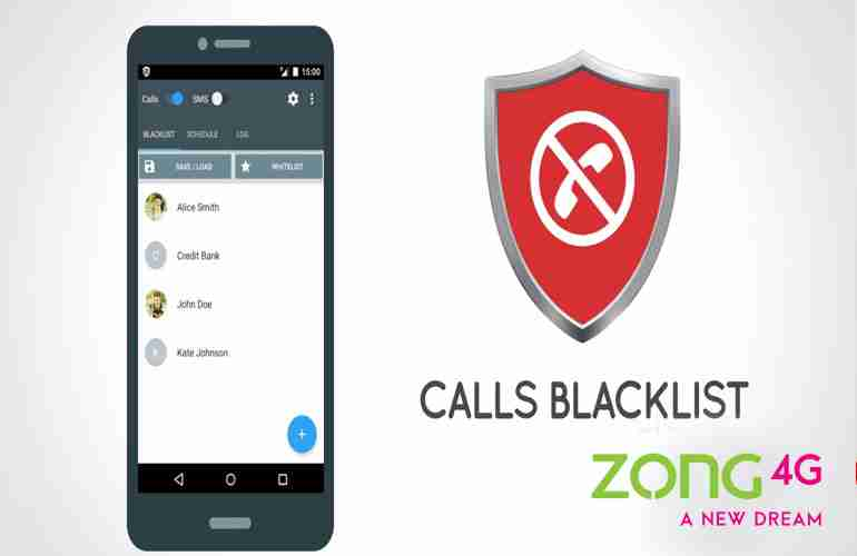 How to Block Zong Number using Blocking Service