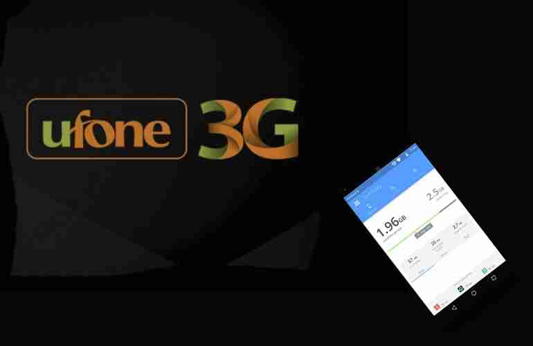 How to Check Ufone Remaining MBs, Mintues & SMS