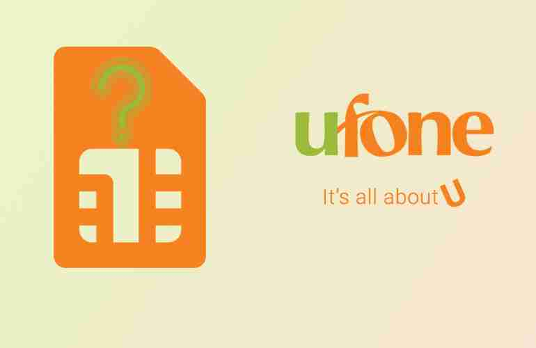 How to Check Ufone Number Owner Details
