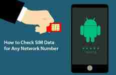 How to Check SIM Data for Any Network Number