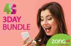 Zong 3 Day Offer
